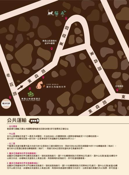 猫森咖啡MAP