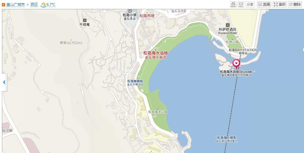 松島天空步道MAP