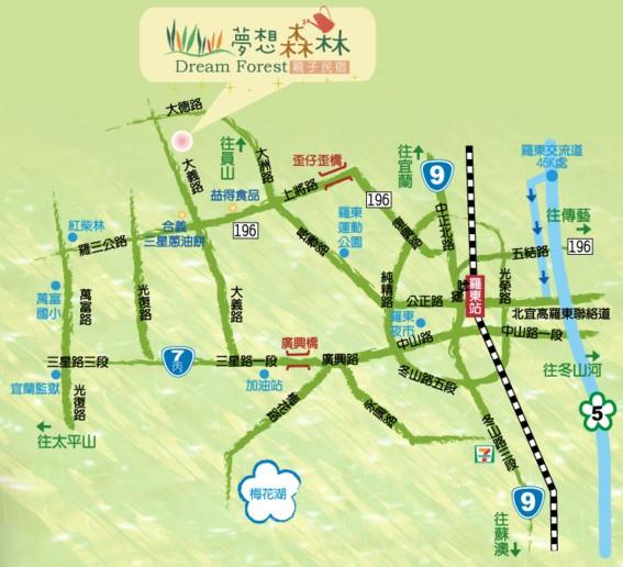 夢想森林MAP